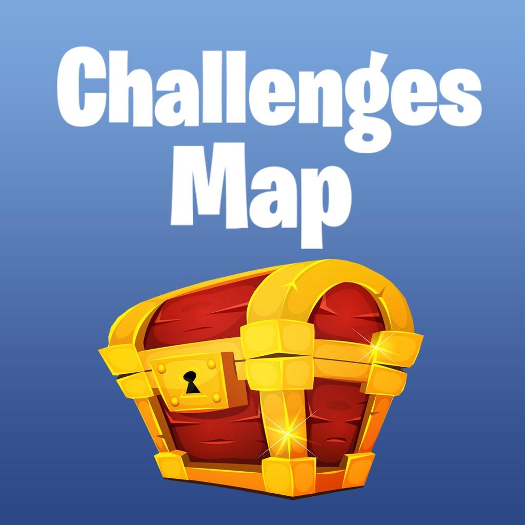 Challenges Map for Fortnite hack