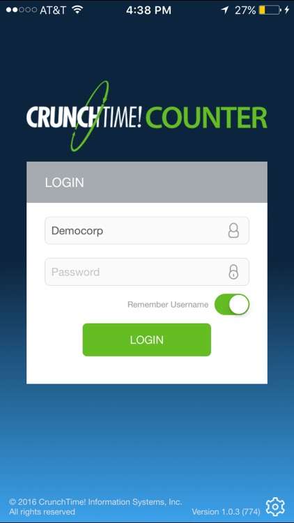 CrunchTime! Counter