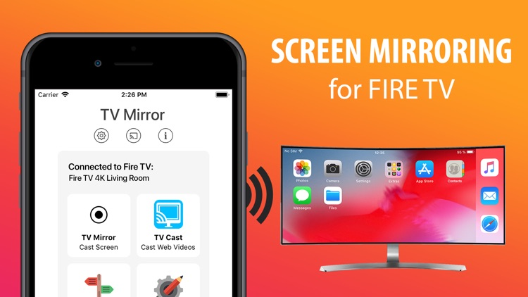 Screen Mirroring for Fire TV