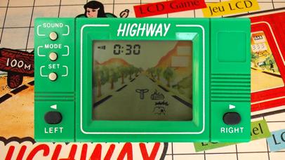 Highway LCD Retro game screenshot 1