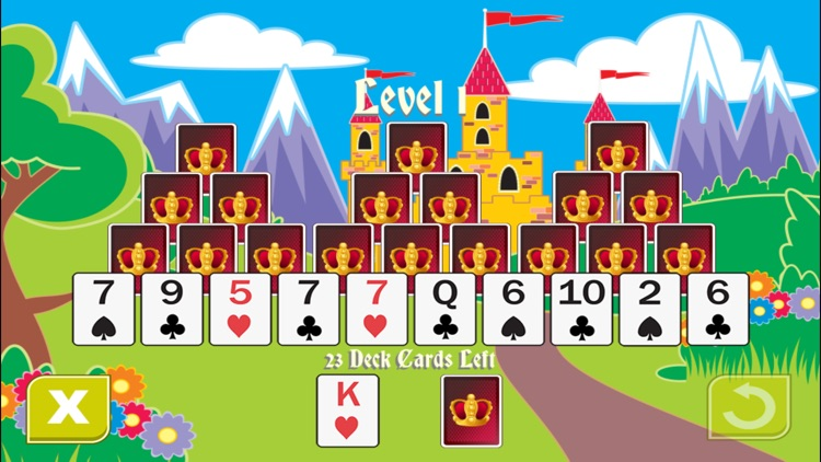 Royal Towers Solitaire screenshot-3