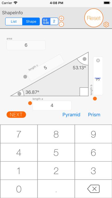 Screenshot for ShapeInfo Plus in Sweden App Store
