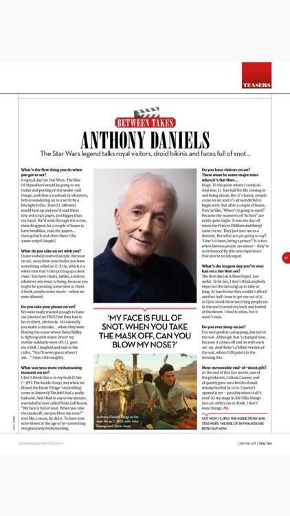 Total Film Magazine screenshot-3