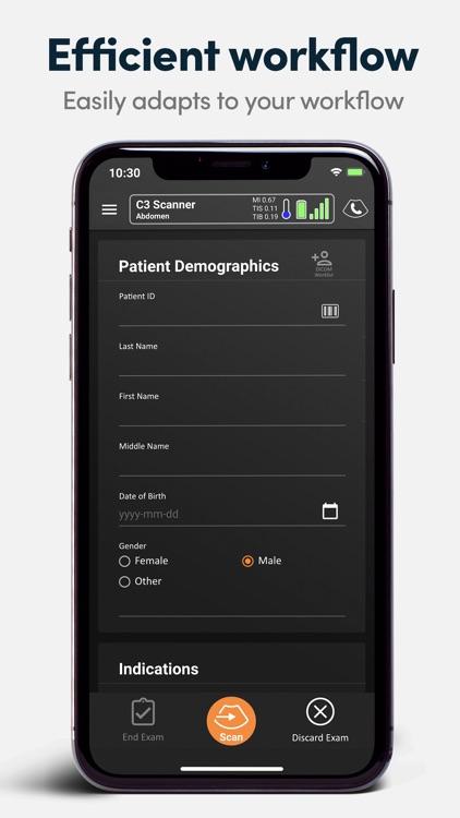 Clarius Ultrasound App
