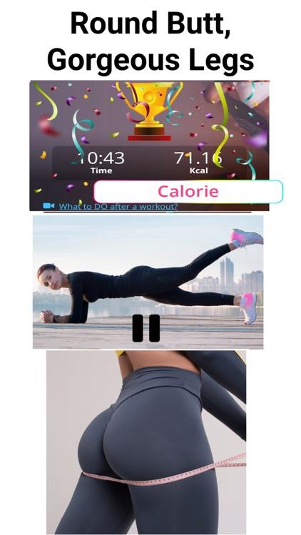 Buttocks Butt and Legs Workout screenshot-7