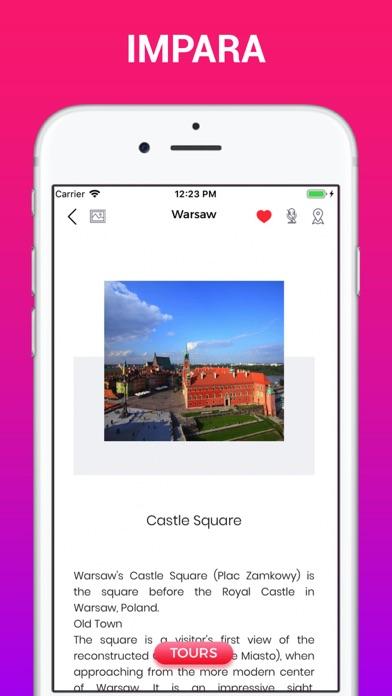 Screenshot of Varsavia Guida di Viaggio5