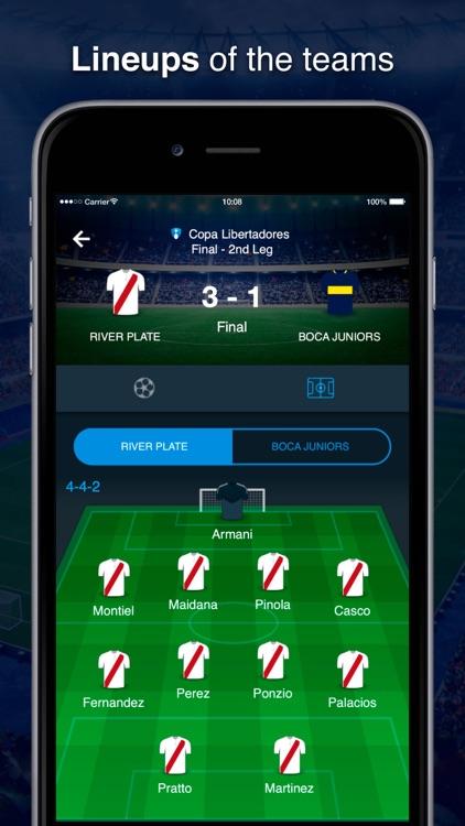 Scores Southamerican soccer screenshot-3
