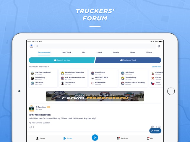Trucker Path on the App Store