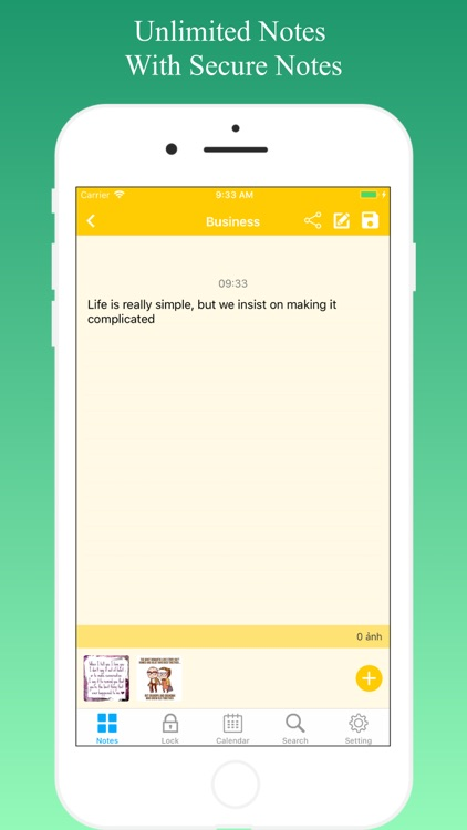 Lock Notes - Sticky Notes screenshot-6