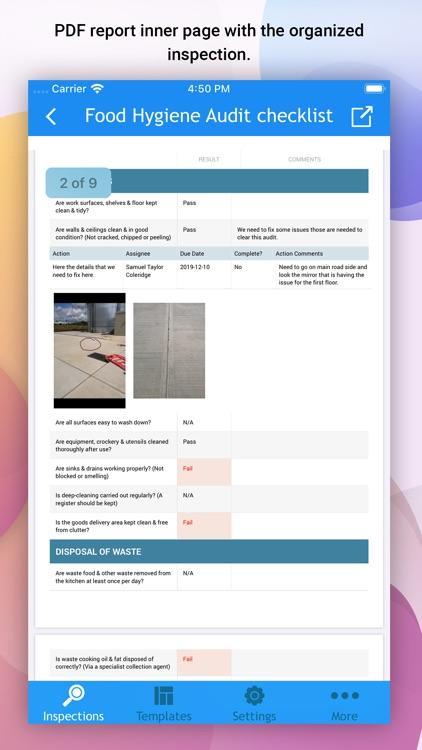 OnSite Checklist - Auditing screenshot-8
