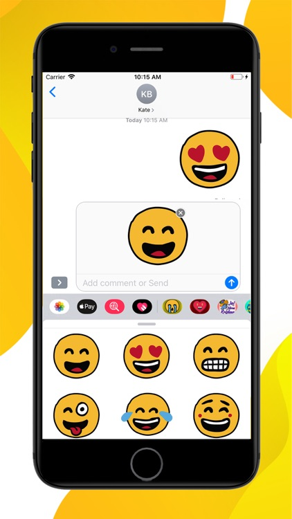 Emotion Emoji Stickers