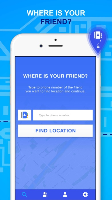 FindApp - Location Finder - App - iOS me