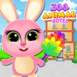 Pet Animal Hotel Cleanup Fun