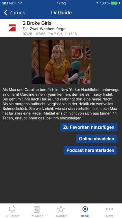 TV Screen - Fernsehen überall screenshot-3