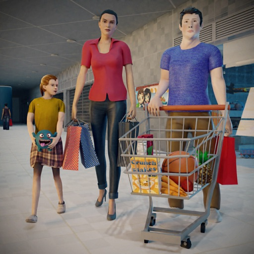 Supermarket Shopping Mall Game icon