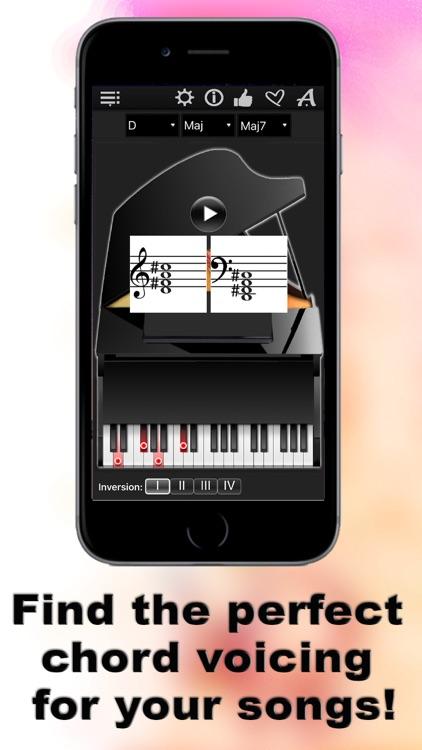 Piano Chords Compass LR screenshot-4