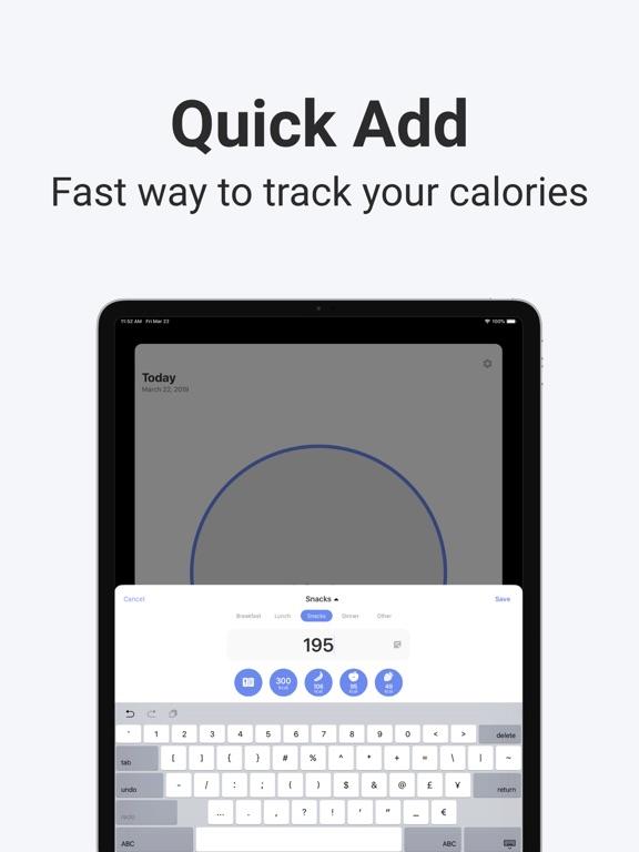 Calory: Simple Calorie Counter screenshot 12