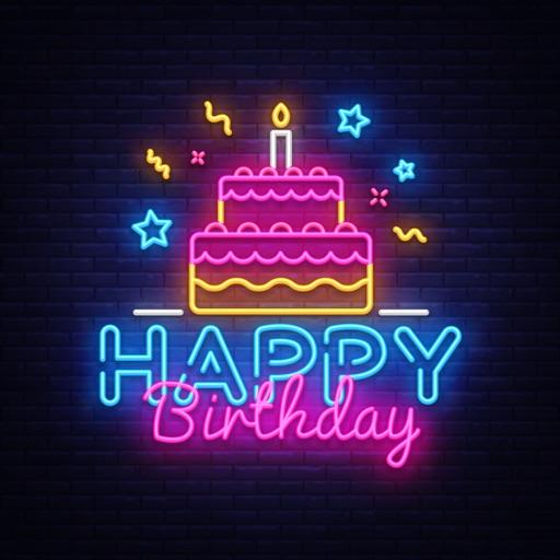 100+ Happy Birthday Party Card image