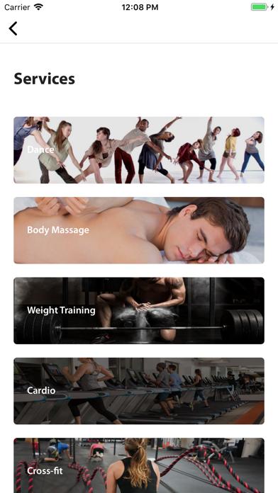 Fusion Fitness App screenshot 3