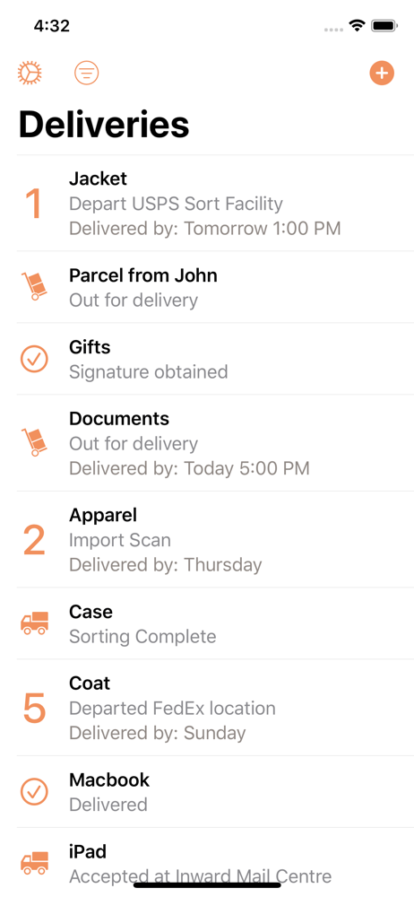 Parcel Delivery Tracking Revenue Download Estimates