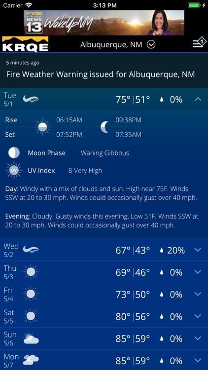 KRQE Weather - Albuquerque screenshot-4