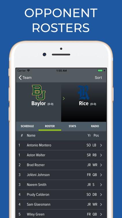 Baylor Football Schedules screenshot-6