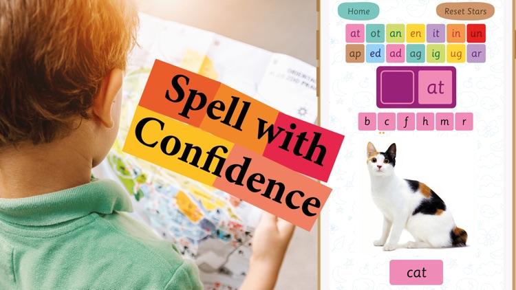 Learn 3 Letter Words Spelling screenshot-1
