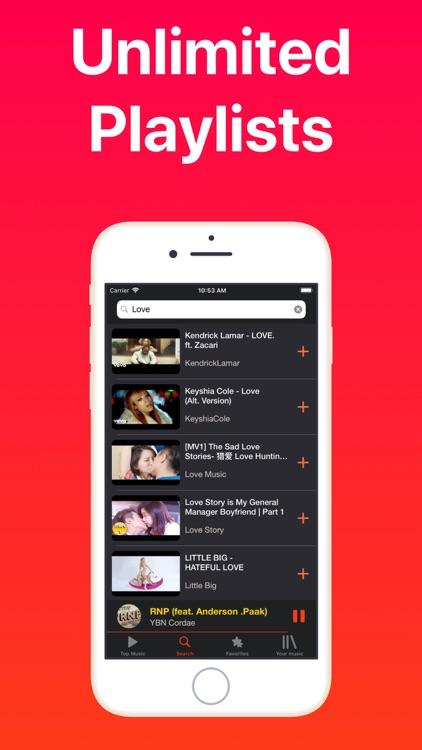 iMusic - Music Video Player screenshot-4