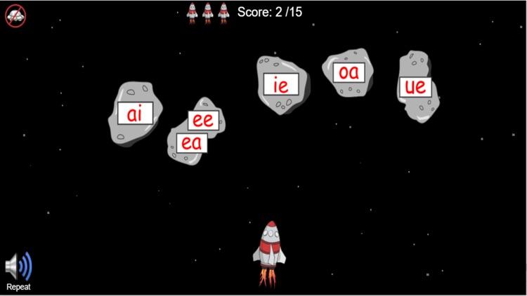 Long Vowel Rocket Game