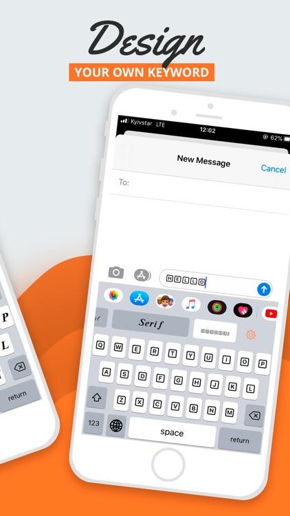 Fonts シ Keyboard fonts & Emoji screenshot-4
