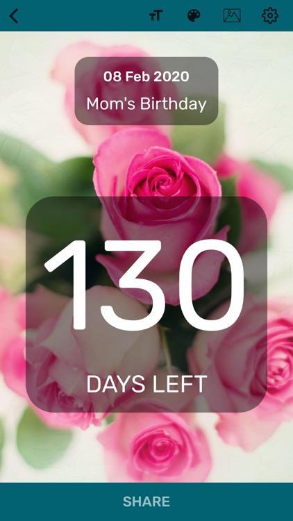 Countdown App - Day Counter screenshot-5