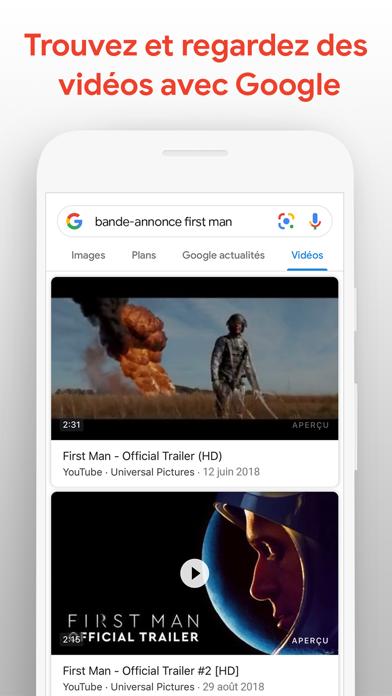 Google sur pc