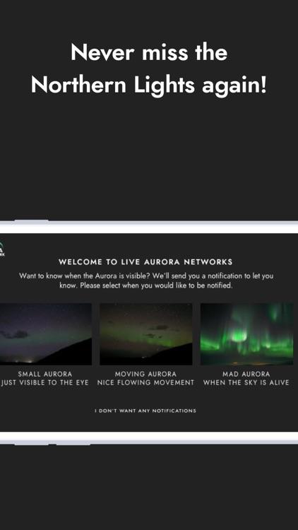 Northern lights Aurora Network screenshot-5