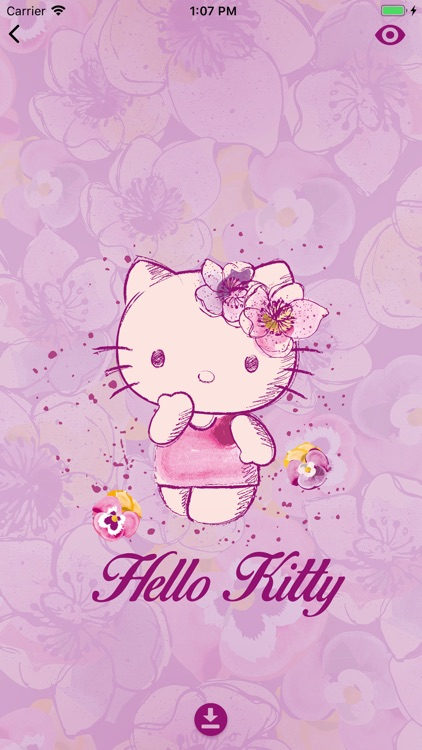 Hello Kitty famous Wallpapers screenshot-3