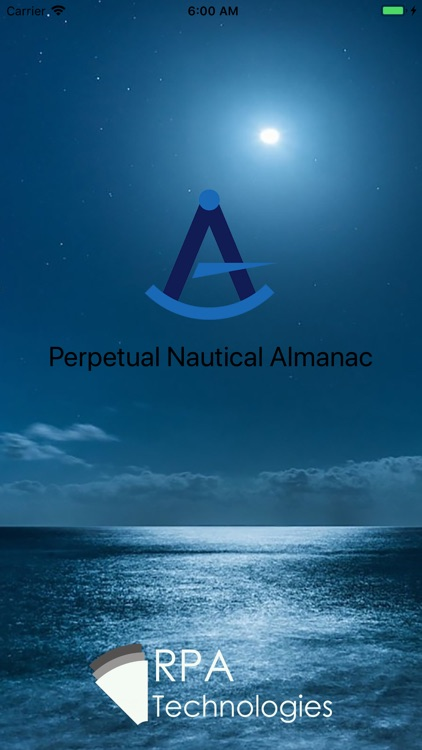 Perpetual Nautical Almanac