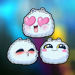 Fluffy Adorable stickers