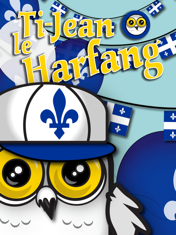 Ti-Jean Le Harfang • Stickers screenshot 10