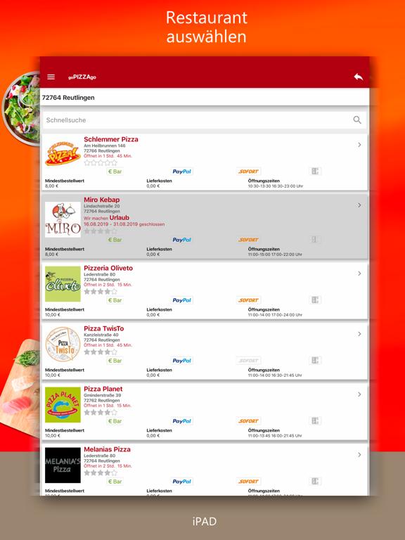 goPIZZAgo - Essen bestellen screenshot 10