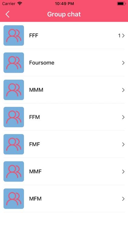 Threesome Dating, Swingers App screenshot-4