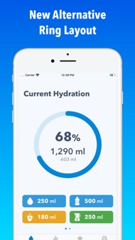 WaterMinder® iphone images