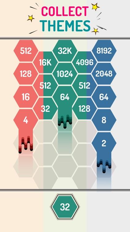 Merge Hexagon Block: Hexa Pops screenshot-4