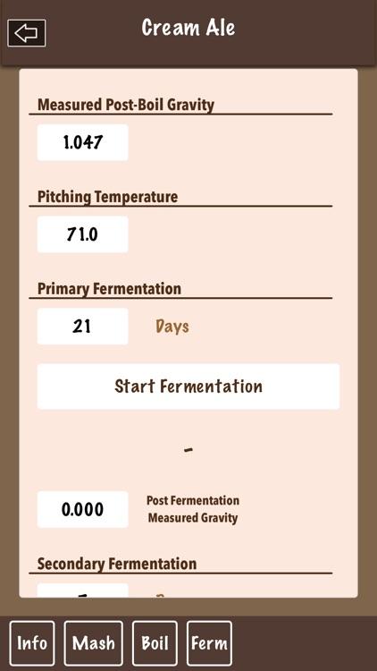 Beer Recipe Calculator screenshot-8