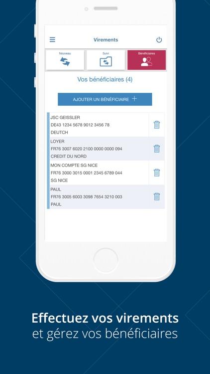 Banque Laydernier pour iPhone screenshot-4