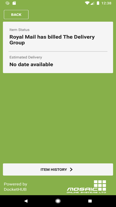 The Delivery Group screenshot two