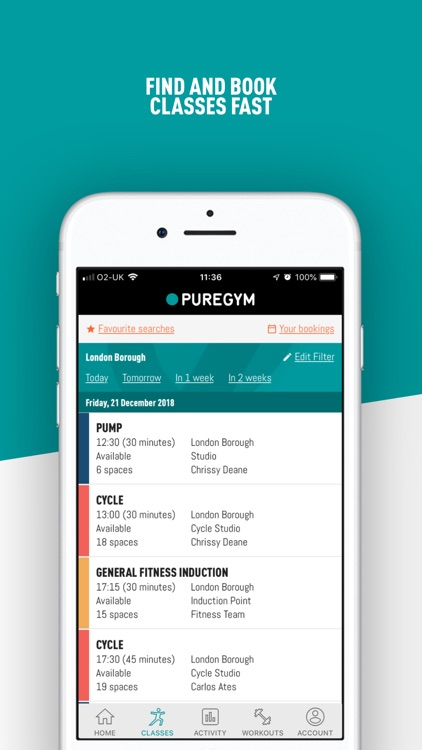 PureGym screenshot-1