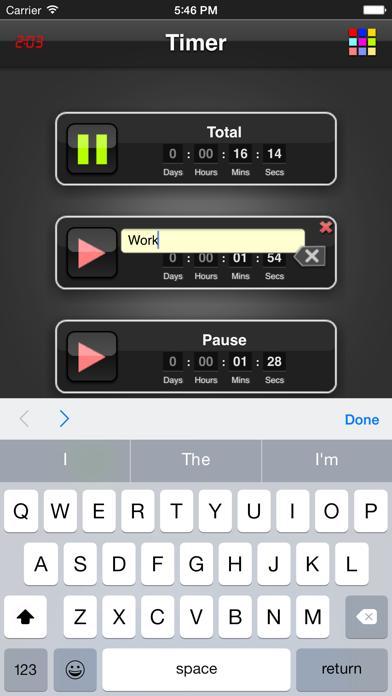 Timer App screenshot two