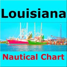 Louisiana - Marine Charts boat