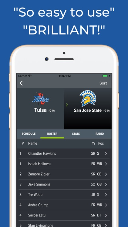 San Jose State Football App screenshot-2