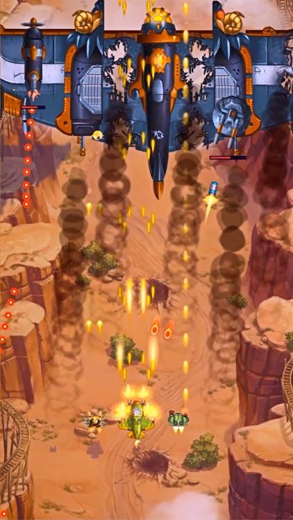 HAWK: Bullet Hell Jet Shooter screenshot-0