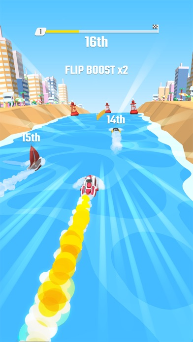 Screenshot for Flippy Race in United Arab Emirates App Store